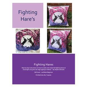 Delphine Brooks' Fighting Hare's Applique Cushion Instructions