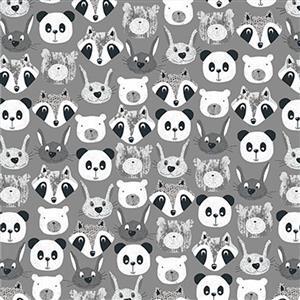 Pretty Pands & Friends Fabric 0.5m