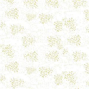 Graceful Garden Cream Sparkle Fabric 0.5m