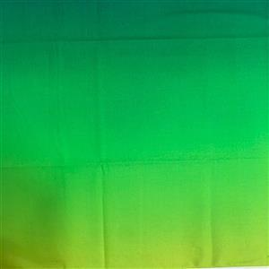 Butterfly Paradise on Green Ombre Fabric 0.5m