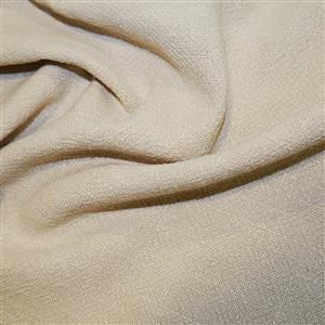 Cream 100% Stone Washed Linen 0.5m