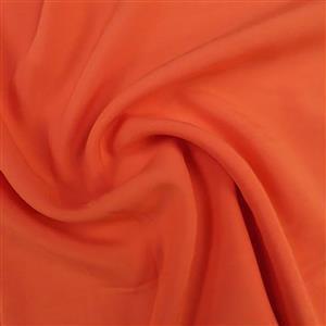 Shelly Challis Coral Viscose Fabric 0.5m