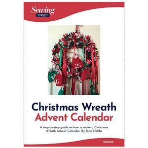 Janis Hobbs' Christmas Wreath Advent Calendar Instructions