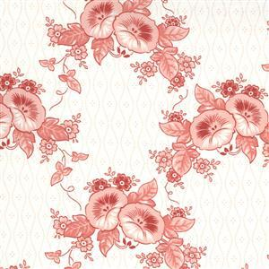 Moda Roselyn in Cream Rose Fabric 0.5m