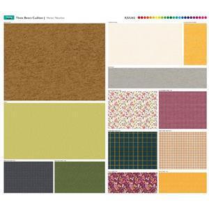 Three Bears Cushion Fabric Panel 70x64cm
