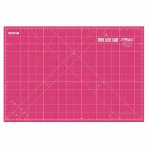 Olfa Pink Self Healing Cutting Mat: 42.5 x 27.5cm (18 x 12in)
