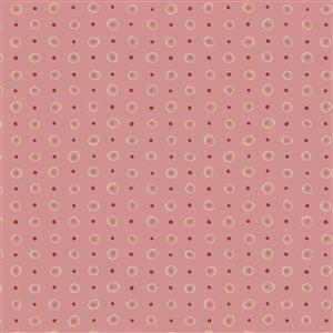 Hannah Basic Spotted Pink Fabric 0.5m