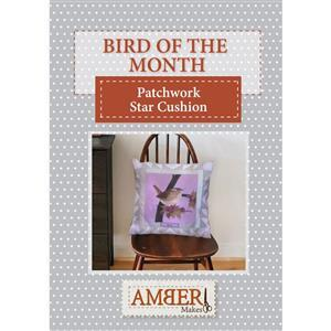 Amber Makes Patchwork Star Cushion Instructions