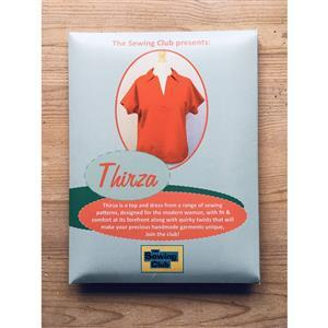 Thirza Sewing Pattern for Dress and Top by The Sewing Club: Sizes S, M, L