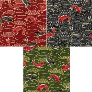 Beppu Koi Fabric Bundle (1.5m)