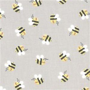 Moda Hello Sunshine in Parchment Bees Fabric 0.5m