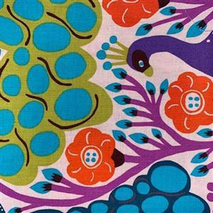 Homeward in Pheasant Red Multi Fabric 0.5m