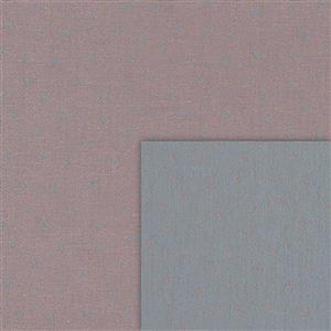 Stof Sevilla Jacquard Small Dots Pink-Grey Fabric 0.5m