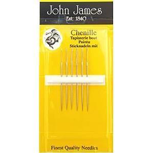 John James Pack of 6 Chenille Needles Size 18/24