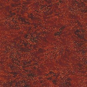 Hoffman Autumn Is In The Air Crimson Gold Fabric 0.5m