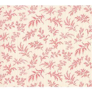 Moda Daybreak Fronds Blush on Cream Fabric 0.5m
