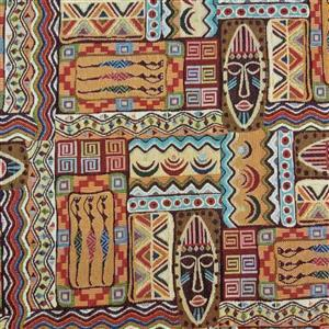 New World Tapestry Kenya Fabric 0.5m