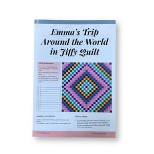 Around the World Quilt Instructions by The Swift Quilting Company