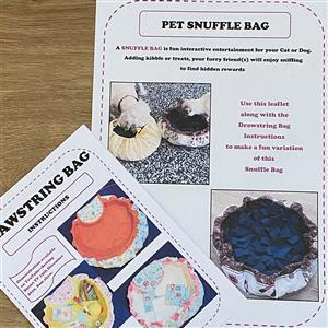 Allison Maryon's Pet Drawstring Snuffle Bag Instructions
