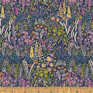 Solstice Meadow on Multi Fabric 0.5m