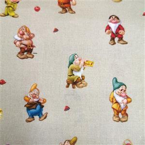 Disney Snow White Fabric 0.5m