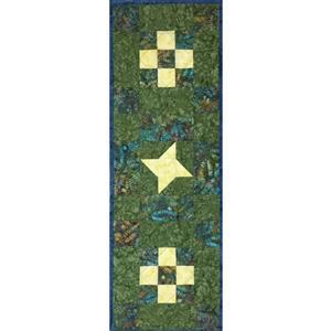 Village Fabrics Beginners Batik Sew-A-Long Table Runner Kit
