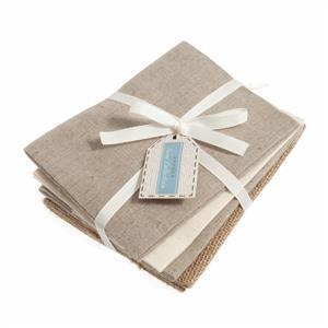 Naturals Fat Quarters Pack of 4
