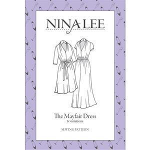 Nina Lee Mayfair Printed Sewing Pattern Sizes 6-20