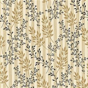 Wildflower Woods in Wheat Fabric 0.5m