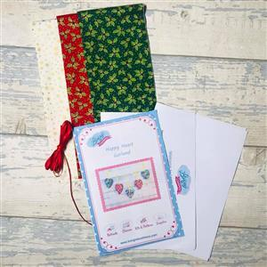 Living in Loveliness Happy Heart Garland Kit