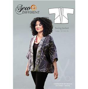 Sew Different Swing Jacket Pattern. Sizes 8-26