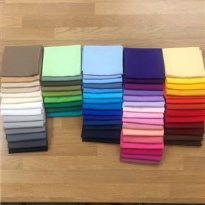 100% Cotton Rainbow Colours FQ Mega Bundle. 67 FQ's