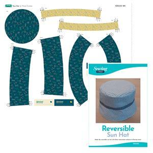 Floral Scatter Sun Hat Kit: Fabric (0.5m), Fabric Panel & Instructions