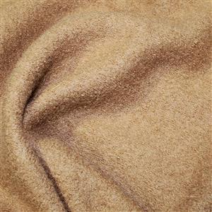 Camel Boiled Wool Fabric 0.5m