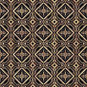 Dan Morris South West Reflections Black Reflections Fabric 0.5m