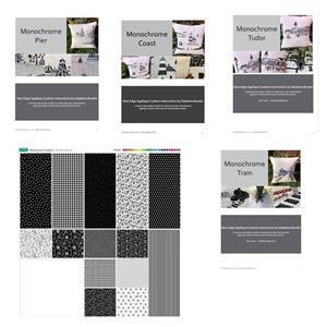 Monochrome Four Cushion Mega Bundle. Get one free!
