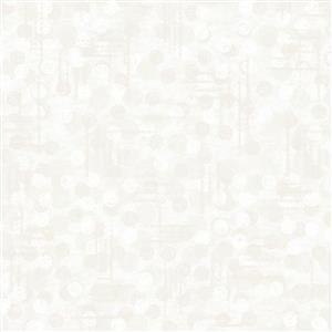 Dots Off White Extra Wide Backing Fabric 0.5m (274cm Width)