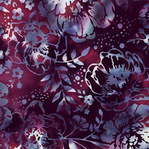 Wine Night in Fuchsia Rose Fabric 0.5m