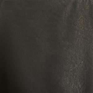 50% Viscose 50% PU Leather Fabric In Black FQ