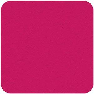 Felt Square in Cerise 22.8x22.8cm (9x9