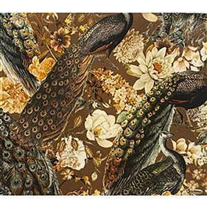 Peacock Regala Viscose Fabric Bundle (3m)