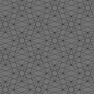 Libs Elliot Stealth Lines on Grey Fabric 0.5m