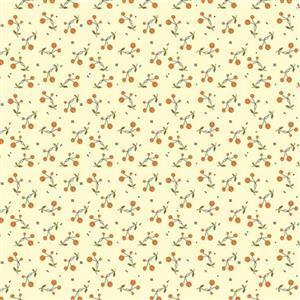 Riley Blake Adel in Autumn Cream Orange Fabric 0.5m