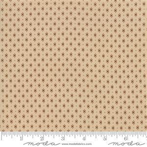 Moda Lancaster in Light Tan Diamond Fabric 0.5m