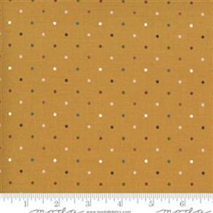 Moda Folktale Magic Dot Golden Fabric 0.5m