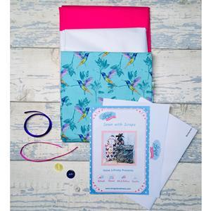 Living in Lovliness Sewn with Scraps - Issue 1 - Hummingbird Kit