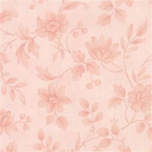 Moda Daybreak Morning Glory Tonal Blush on Pink Fabric 0.5m