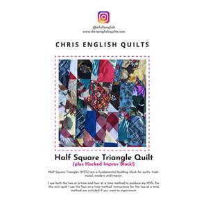 Chris English's Half Square Triangle Improv Hack Instructions